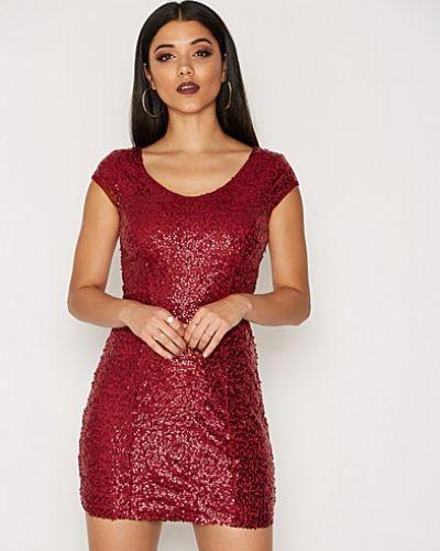 Festklänning Short Sleeve Sequin Dress från NLY One