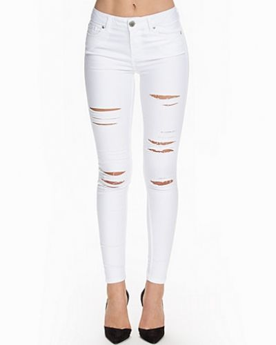 Shredded Jeans Miss Selfridge slim fit jeans till dam.