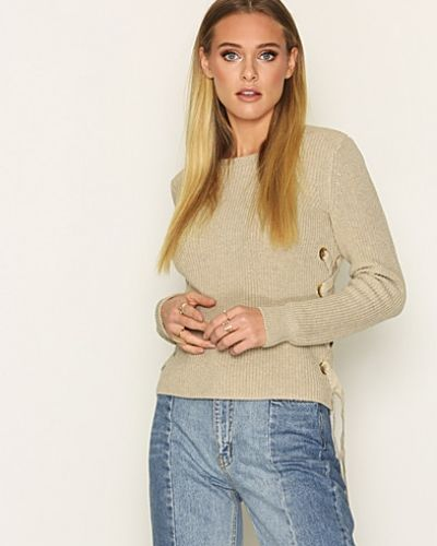 MICHAEL Michael Kors Side Lace Up LS Crwn