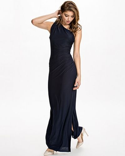 Ax Paris Side Rouched Maxi Dress