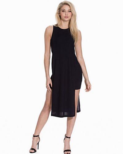 Topshop Side Split Rib Midi Dress