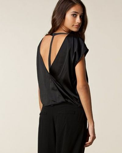 Filippa K Silk Satin Back Strap Top