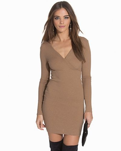 NLY Trend Simple V Neck Dress