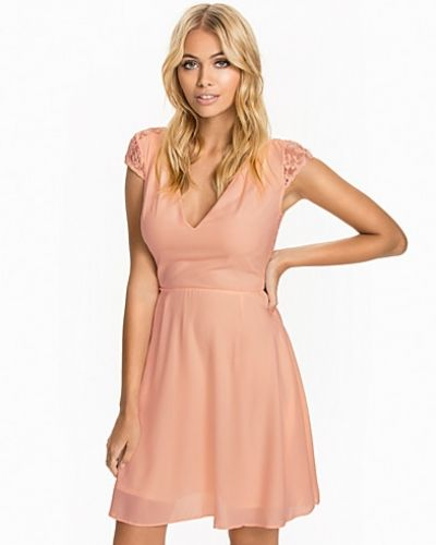 Elise Ryan Skater Lace Dress