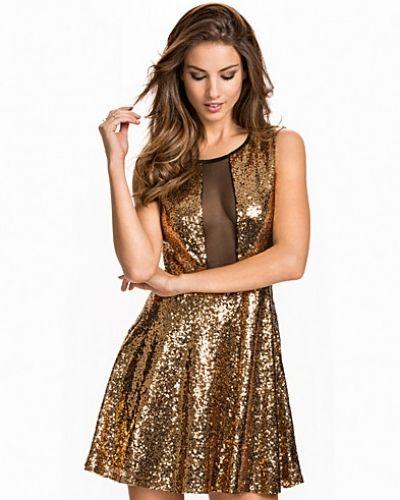 NLY One Skater Sequin Mesh Dress