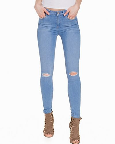 New Look Skinny Jeans w/ Busted Knee