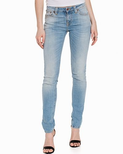 Slim fit jeans från Nudie Jeans till dam.