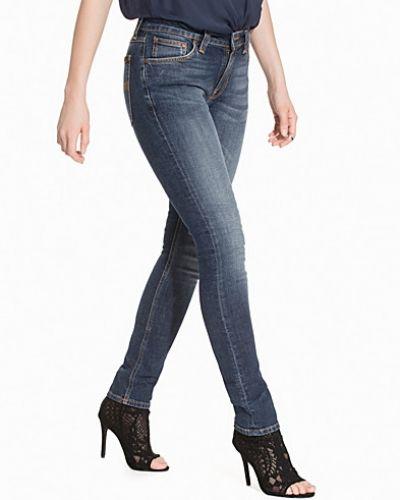 Slim fit jeans Skinny Lin Flat Love från Nudie Jeans