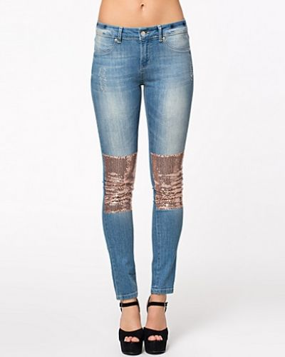 NLY Trend Skinny Sequins Jeans