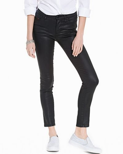 Blå slim fit jeans från Diesel till dam.