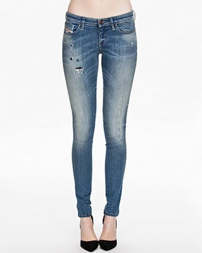 Slim fit jeans Skinzee Low 0829Y från Diesel