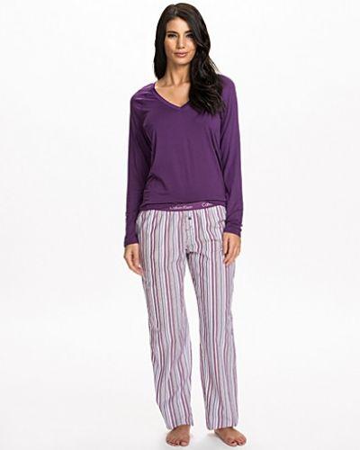 Calvin Klein Sleepwear LS V-Neck Top