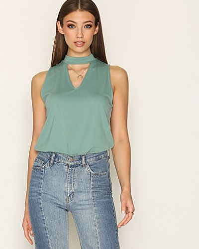 NLY Trend Sleeveless Choker Top