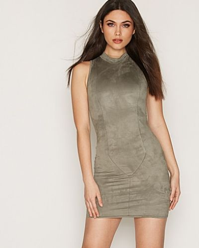 NLY Trend Sleeveless Suede Dress