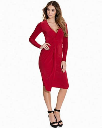Club L Slinky Knot Midi Dress