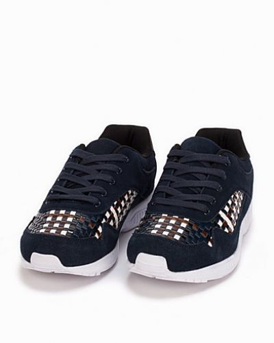 Bianco Sneaker W. Woven Detail