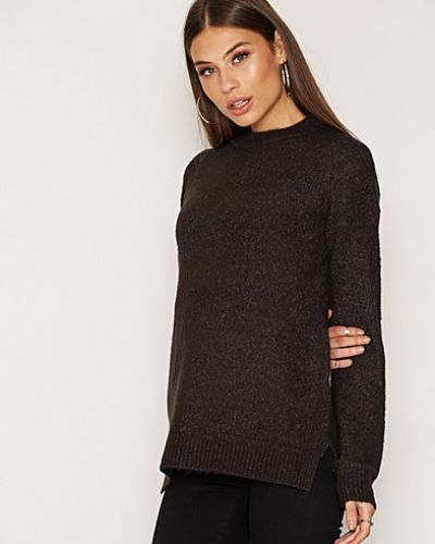 Till dam från NLY Trend, en grå stickade tröja.