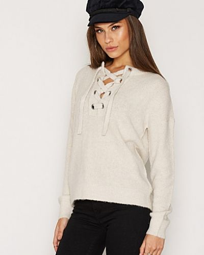 NLY Trend Soft Lace Up Knit