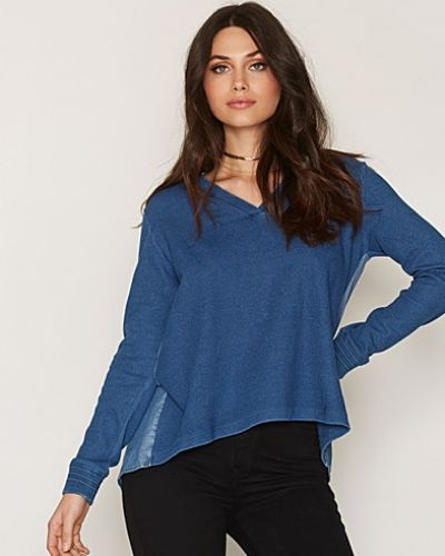 Soft Sweat Denim Back Maison Scotch sweatshirts till dam.