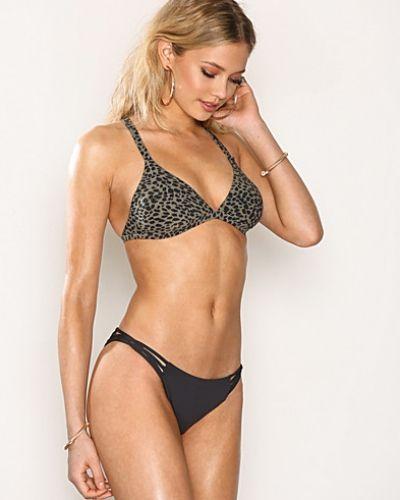 Till tjejer från Billabong, en svart bikinitrosa.