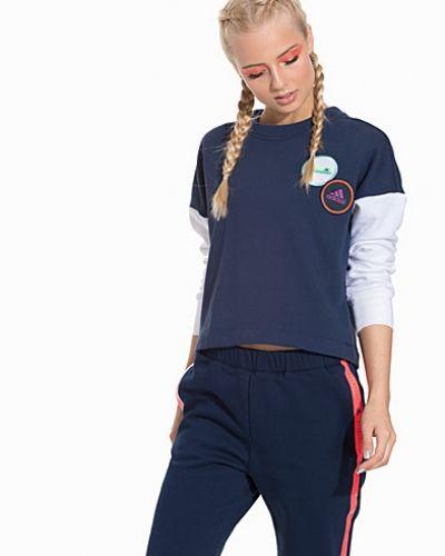 Spacer Crew adidas StellaSport sweatshirts till dam.