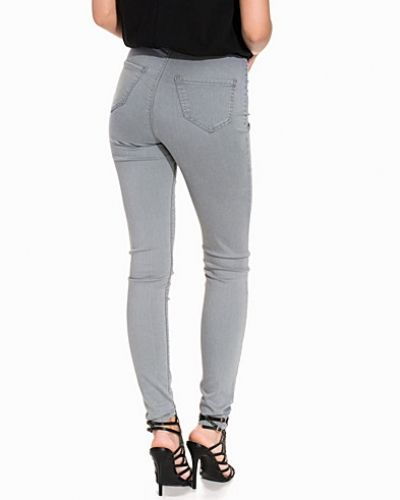 High waist jeans Steffi Grey Super High Waist Jeans från Miss Selfridge