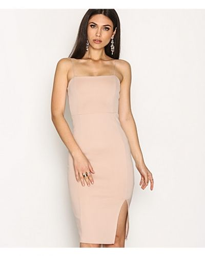 Straight Line Slit Dress NLY One fodralklänning till dam.