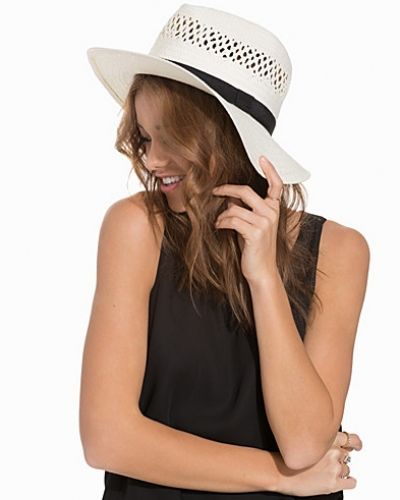 NLY Accessories Strap Straw Hat