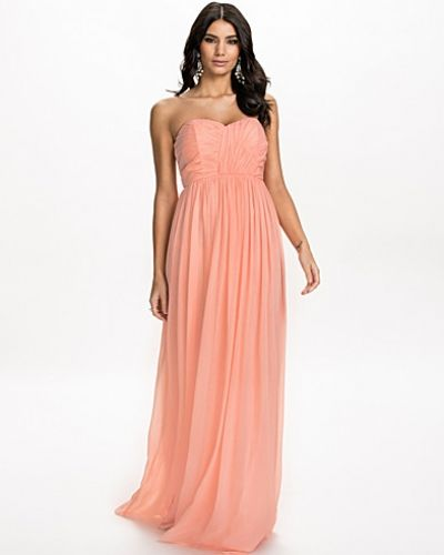 Nly Eve Strapless Draped Dress
