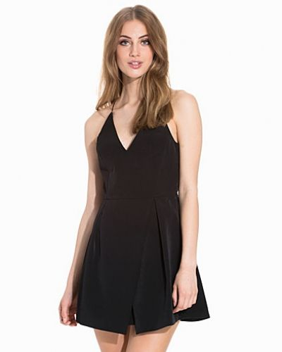 Topshop Strappy Bonded Mini Dress