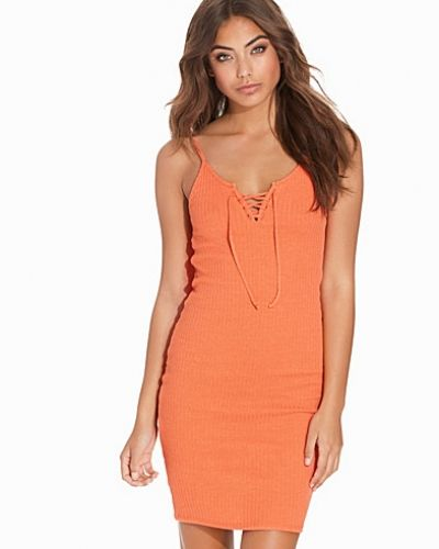 Topshop Strappy Lace Up Bodycon Dress
