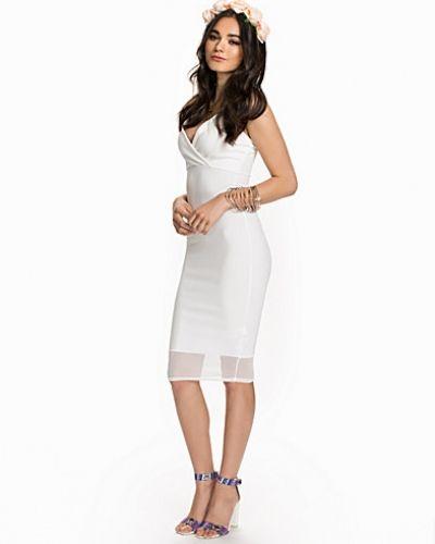 Fodralklänning Strappy Mesh Bodycon från New Look