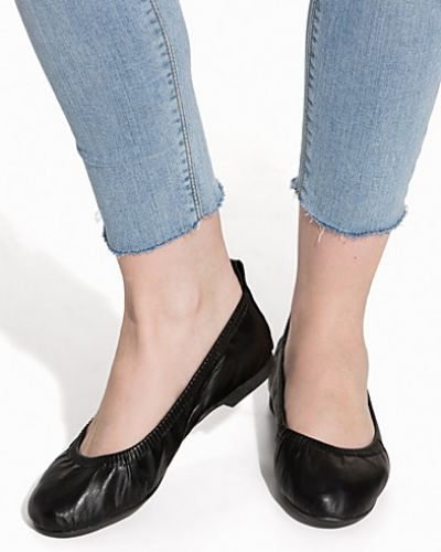 Nly Shoes Stretchy Flat Ballerina