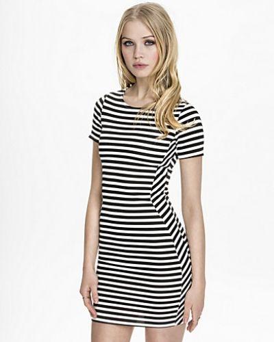 New Look Stripe Scuba Mini Dress