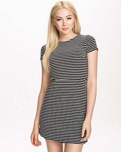 New Look Stripe Texture C/S Skater