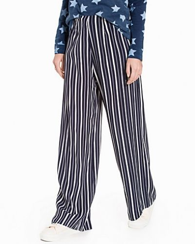 Stripe Wide Leg Trouser Miss Selfridge byxa till dam.