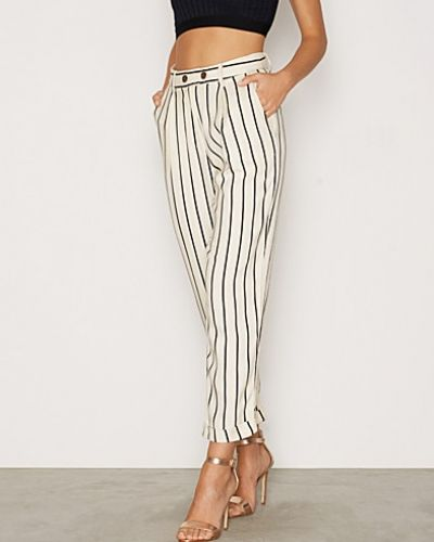 Byxa Striped Mensy Peg Trousers från Topshop