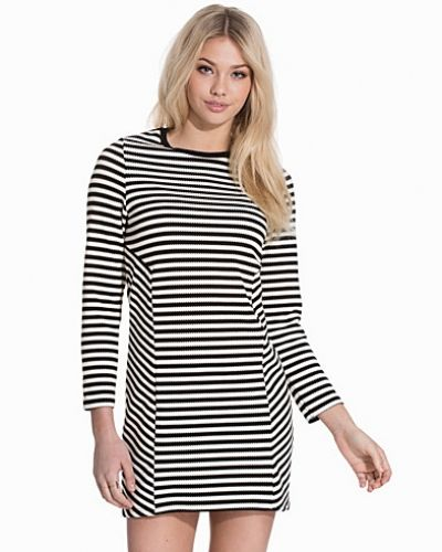 Striped Sweatshirt Dress Topshop klänning till dam.