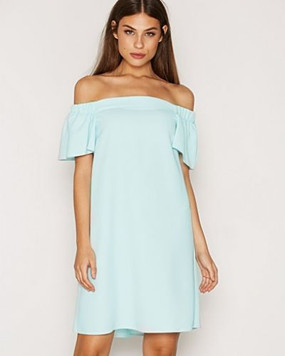 Topshop Structured Bardot Dress