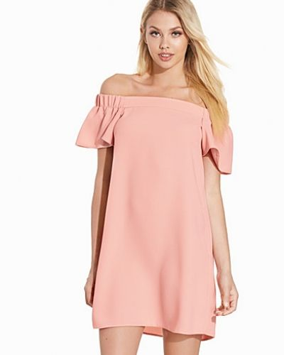 Topshop Structured Bardot Dress