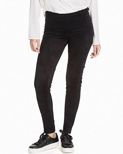 Leggings Suede Looking Leggings från NLY Trend