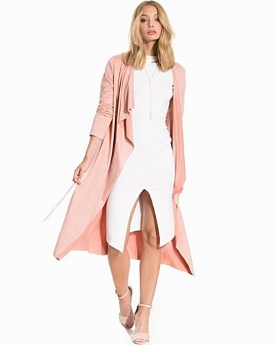 NLY Trend Suede Looking Long Trench