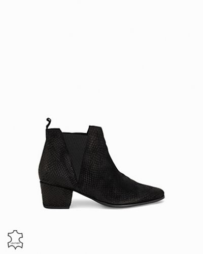 Bianco Suede Printed Boot