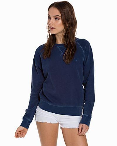Blå sweatshirts från Gant till dam.