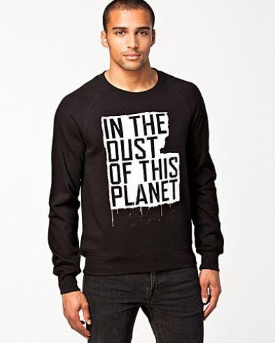 Svart sweatshirts från BLK DNM till killar.