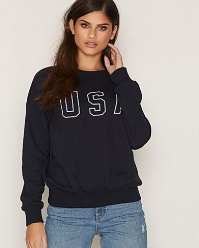 Sweatshirt Usa Print Anine Bing sweatshirts till dam.