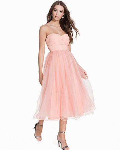 Nly Eve Sweetheart Chiffon Dress