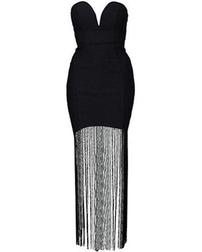 Till dam från Rare London, en svart maxiklänning.