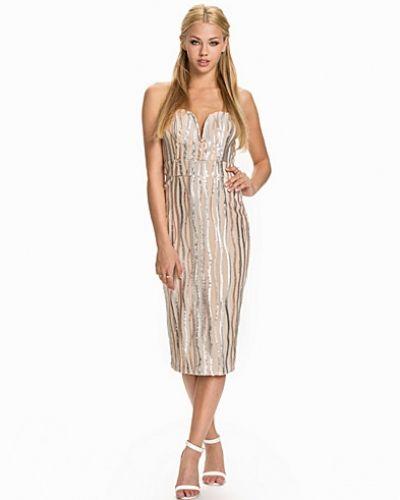 TFNC Swirl Sequin Dress