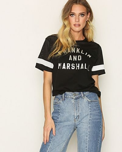 T-Shirt Jersey Round Neck Franklin & Marshall t-shirts till dam.